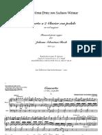 Bach 592 J.ernst Concerto