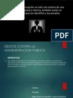 Delitos Contra La Administración Publica
