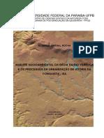 ANÁLISE SOCIOAMBIENTAL DA BACIA DO RIO VERRUGA E OS PROCESSOS DA URBANIZAÇÃO DE VITÓRIA DA CONQUISTA – BA.pdf