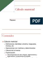 Clases Algebra CalculoMatricial