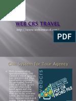 Web CRS Travel