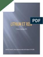 Lithium Et Rein Lecture Seule