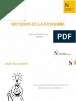 Métodos de la Economía 1