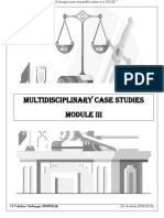 Multidisciplinary Case Studies Marathon