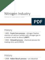 CHE150 - Nitrogen Industry