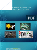 ELECTRICAL SAFETY PRACTICES AND CAUSES OF ELECTRICAL ACIDENT edited.pptx