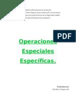 Tecnicas Basicas de Operaciones Policiales