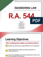 r.a. 544 Civil Engineering Law