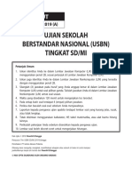 Tryout Usbn Sd 2019 Paket a (Soal)