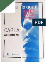 O que é Interseccionaliddade, Carla Akotirene