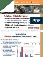 Sosmedia2010s 4jakso Yhteisosivustot Tukimateriaali