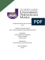 Digital Marketing Seminar Reflection Paper