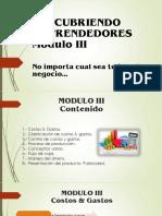 Presentacion Taller Emprendedores Mod III