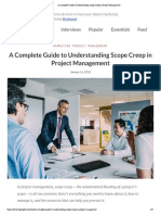 A Complete Guide to Understanding Scope Creep in Project Management