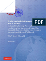 Oracle Supply Chain Management Cloud-PLAN to PRODUCE
