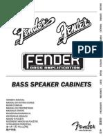 Gabinetes rumble Fender
