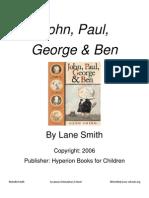John, Paul, George & Ben - Lane Smith