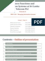 MIS_MBA 5106 - Final Presentation
