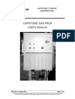 400012A 2007-08 Capstone Gas Pack User's Manual