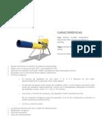 Ficha Tecnica Cañón Electrónico de Propano