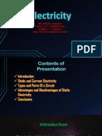 Electricity Presentation