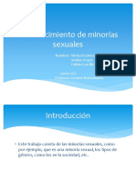 Reconocimiento de vffMinorías Sexualesn3
