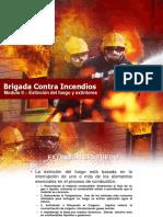 Extinción Del Fuego y Extintores