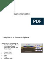 Seismic Interpretation MNA