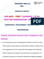 Ohe Anti – Theft Charging 25 Kv