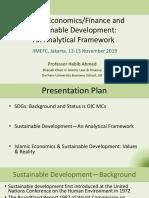 Islamic Economics and Sustainable Development Analytical Framework Indonesia 1911
