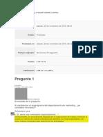 Evaluación de Marketing Avanzado Unidad 2 Asturias