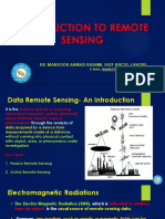 Chapter 4- Introduction to Remote Sensing