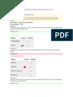 Evaluación Centros de Reconocimiento de Conductores