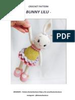 Bunny Lilu- Coneja