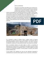Impactos de La Minería en La Atmósfera