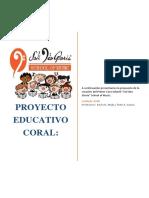 Proyecto Coral Soli Deo Gloria