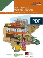 La Inversión Privada en El Sector Educación Un Análisis de Las APP y OXL en Infraestructura Educativa