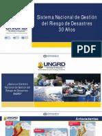 Sistema Nacional de Gestion Del Riesgo de Desastres - Claudia Satizabal