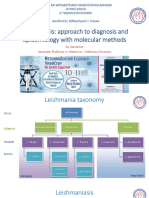 Leismaniasis - Approach to Diagnosis and Epidemiology With Molecular Methods