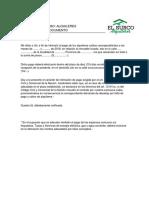 Modelo Carta Documento Intimacion