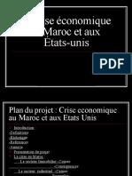 La Crise Eco Au Maroc Et Eu