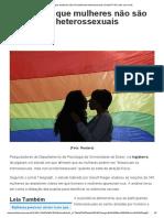 2015.06.11 - Estudo Diz Que Mulheres Não São Totalmente Heterossexuais