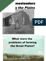 Farming the Plains - Problems
