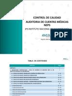 Dossier Cont Calidad Aud Ctas Medicas Instituto Nal de Cancerología-V0
