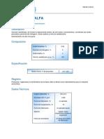 ProductLine AP PROXITANE Proxitane Alfa ES 219919