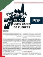 El 68 como campo de fuerzas, G. Gutiérrez