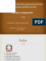 Studiu comparativ APL în diferite Țări
