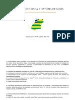 Simulado Geografia e História de Goiás (1)