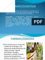 FARMACOGNOSIA - CONCEPTOS