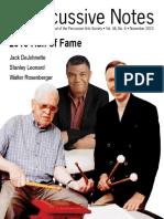 Revista de percusión